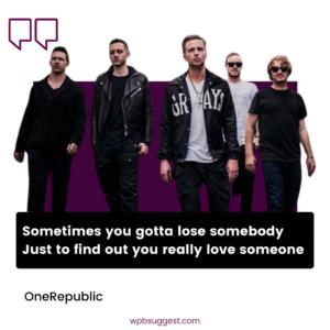 OneRepublic Captions Image
