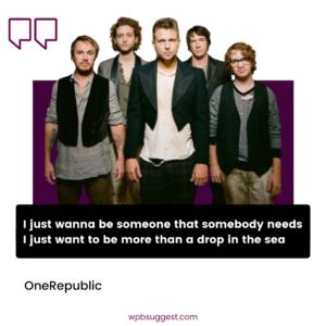 OneRepublic Image For Instagram Story