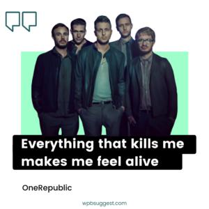 OneRepublic Quotes & Sayings