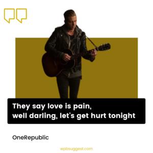 OneRepublic Sayings Image