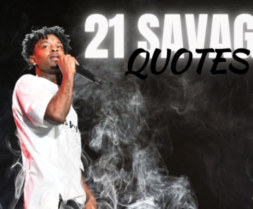 21 SAVAGE QUOTES COVER