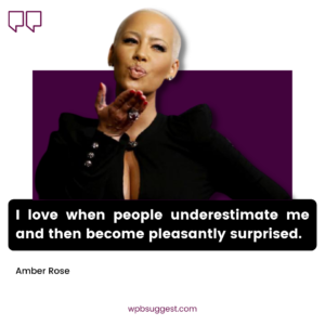 Cute Amber Quotes