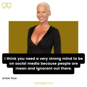 Amber Rose Sayings Image