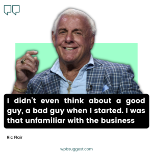 Ric Flair Quotes & Sayings Image