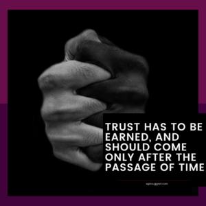 Toxic Trust Issues Quotes
