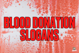 Blood Donation Slogans Cover