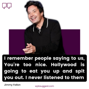 Best Jimmy Fallon Quotes