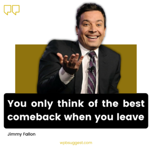 Jimmy Fallon Quotes Image