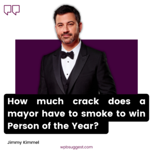 Nice Jimmy Kimmel Quotes