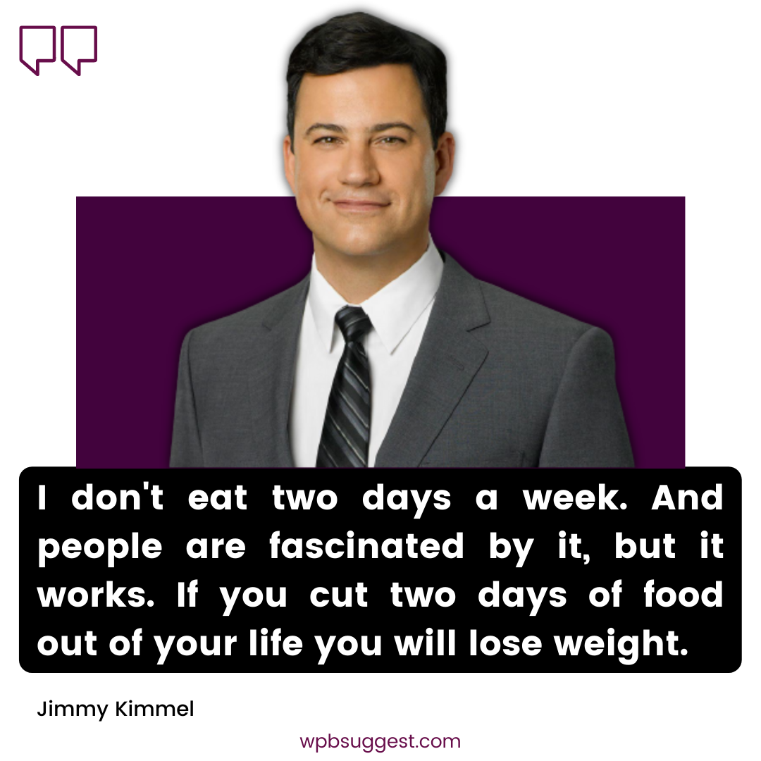 Cool Jimmy Kimmel Quotes