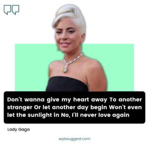 Lady Gaga Quotes Funny