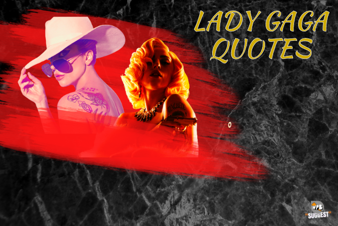 Lady Gaga Quotes Cover